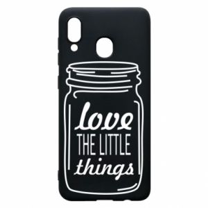 Etui na Samsung A30 Love the little things