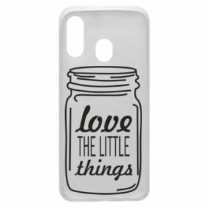 Etui na Samsung A40 Love the little things