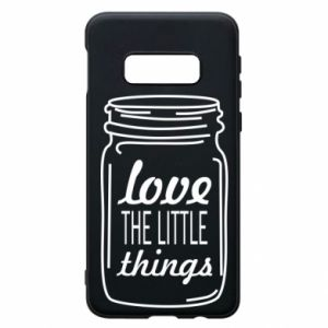 Etui na Samsung S10e Love the little things