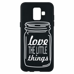 Etui na Samsung A6 2018 Love the little things