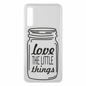 Etui na Samsung A7 2018 Love the little things