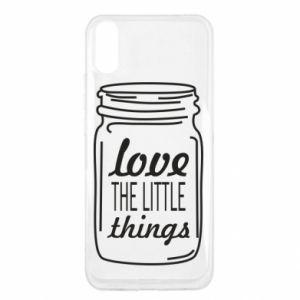 Etui na Xiaomi Redmi 9a Love the little things
