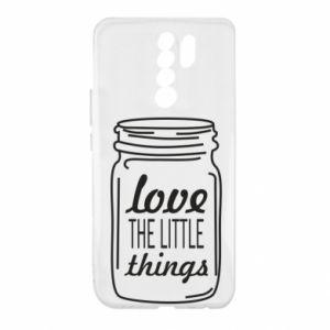 Etui na Xiaomi Redmi 9 Love the little things