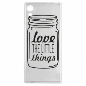 Etui na Sony Xperia XA1 Love the little things
