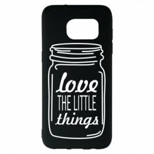 Etui na Samsung S7 EDGE Love the little things