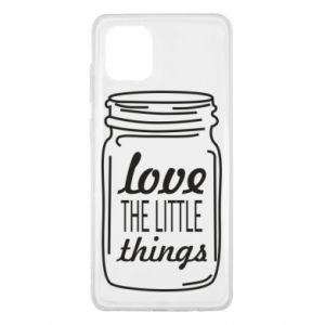 Etui na Samsung Note 10 Lite Love the little things