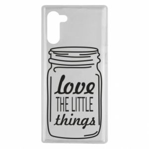 Etui na Samsung Note 10 Love the little things