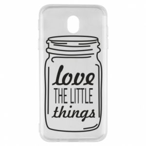 Etui na Samsung J7 2017 Love the little things