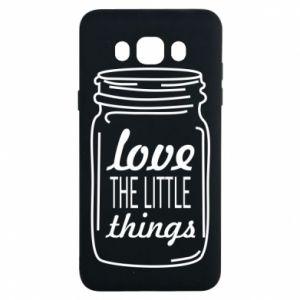 Etui na Samsung J7 2016 Love the little things