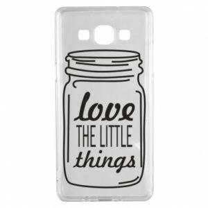 Etui na Samsung A5 2015 Love the little things