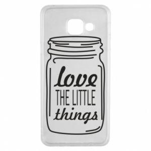 Etui na Samsung A3 2016 Love the little things
