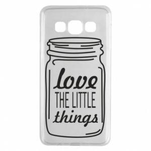 Etui na Samsung A3 2015 Love the little things