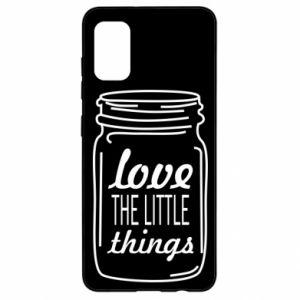 Etui na Samsung A41 Love the little things