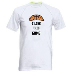 Koszulka sportowa męska I Love this game