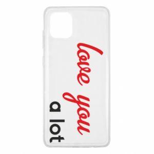Etui na Samsung Note 10 Lite Love you a lot