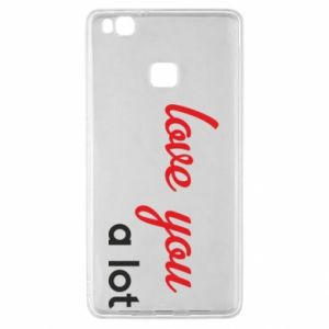 Etui na Huawei P9 Lite Love you a lot