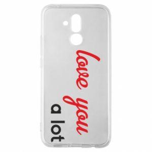 Etui na Huawei Mate 20 Lite Love you a lot