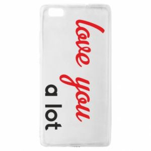 Etui na Huawei P 8 Lite Love you a lot
