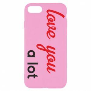 Etui na iPhone SE 2020 Love you a lot