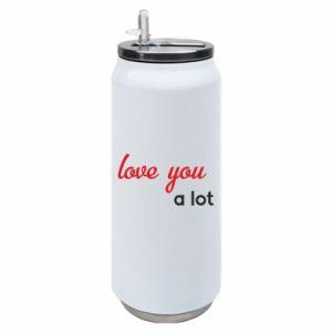 Puszka termiczna Love you a lot