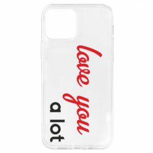 Etui na iPhone 12/12 Pro Love you a lot