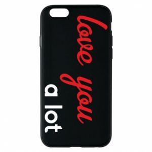 Etui na iPhone 6/6S Love you a lot