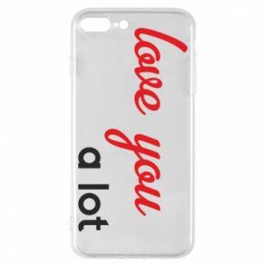 Etui na iPhone 8 Plus Love you a lot