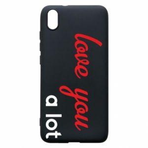 Etui na Xiaomi Redmi 7A Love you a lot