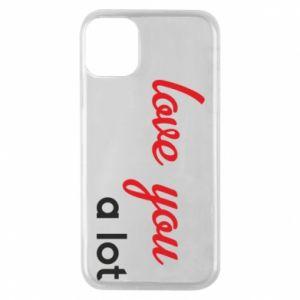 Etui na iPhone 11 Pro Love you a lot