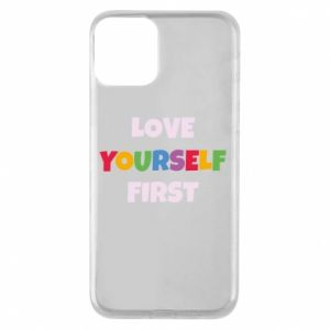 Etui na iPhone 11 Love yourself first