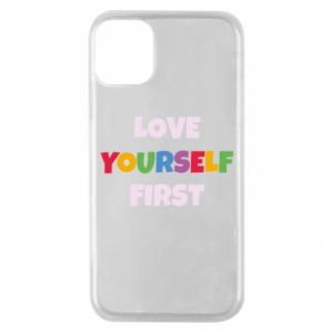 Etui na iPhone 11 Pro Love yourself first