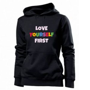 Damska bluza Love yourself first