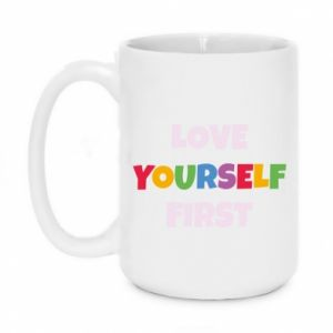 Kubek 450ml Love yourself first
