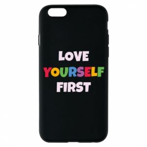 Etui na iPhone 6/6S Love yourself first