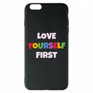 Etui na iPhone 6 Plus/6S Plus Love yourself first
