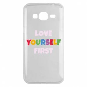 Etui na Samsung J3 2016 Love yourself first
