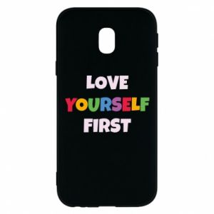 Etui na Samsung J3 2017 Love yourself first