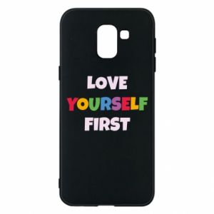 Etui na Samsung J6 Love yourself first