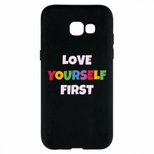 Etui na Samsung A5 2017 Love yourself first