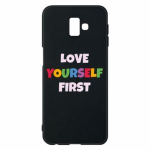 Etui na Samsung J6 Plus 2018 Love yourself first
