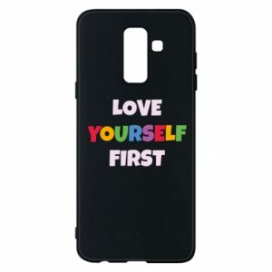 Etui na Samsung A6+ 2018 Love yourself first