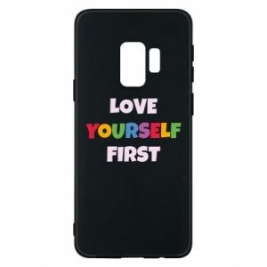 Etui na Samsung S9 Love yourself first