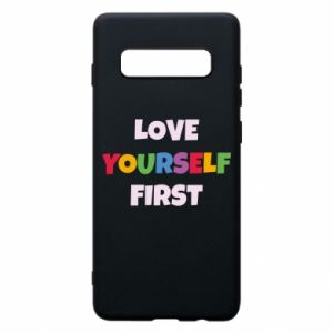 Etui na Samsung S10+ Love yourself first