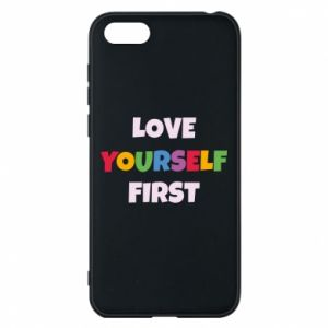 Etui na Huawei Y5 2018 Love yourself first