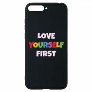 Etui na Huawei Y6 2018 Love yourself first