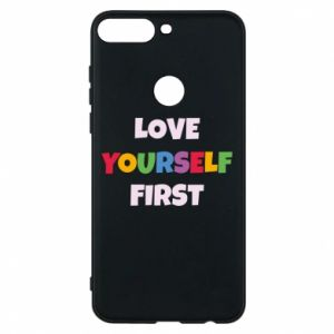 Etui na Huawei Y7 Prime 2018 Love yourself first