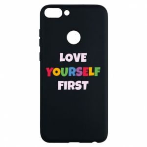 Etui na Huawei P Smart Love yourself first