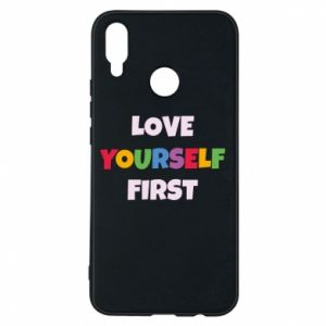 Etui na Huawei P Smart Plus Love yourself first