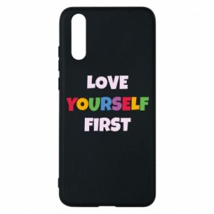 Etui na Huawei P20 Love yourself first