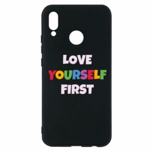 Etui na Huawei P20 Lite Love yourself first